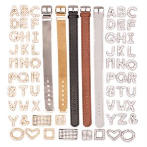 Picture of Leather-like Bands and Charms Set - While Supplies Last!
